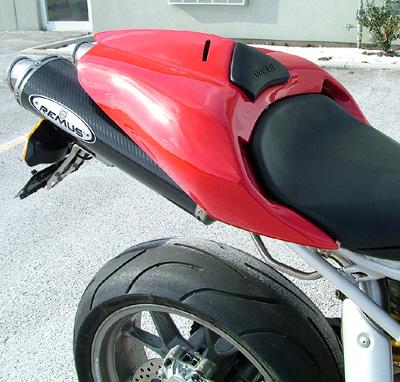 slingshot racing : ducati 749 999 remus carbon fiber exhaust slip